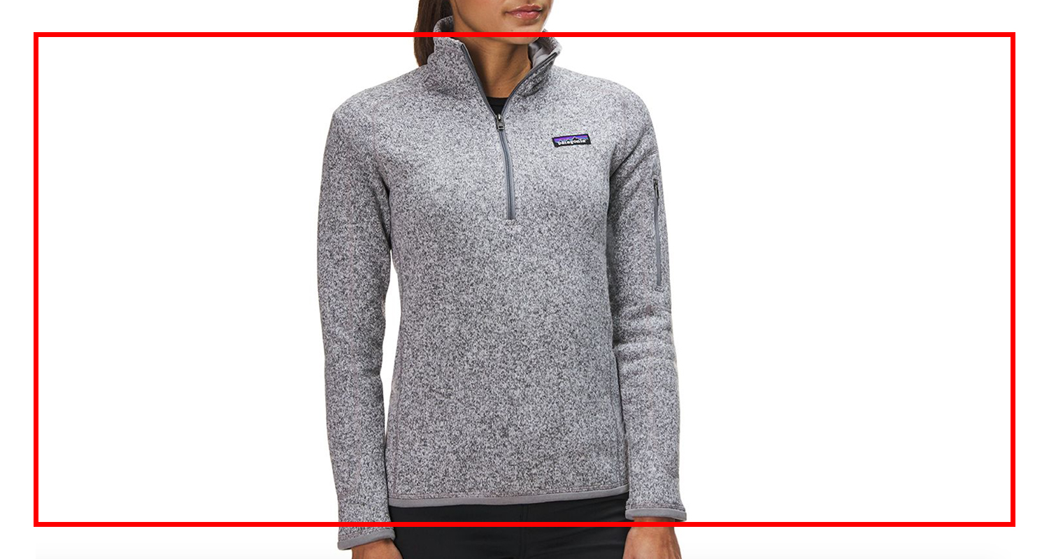 Patagonia - Quarter Zip Better Sweater
